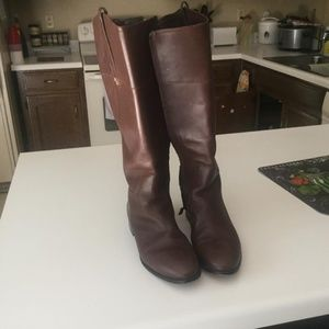 Cole Haan size 9B Gently worn Whiskey Brown Boots